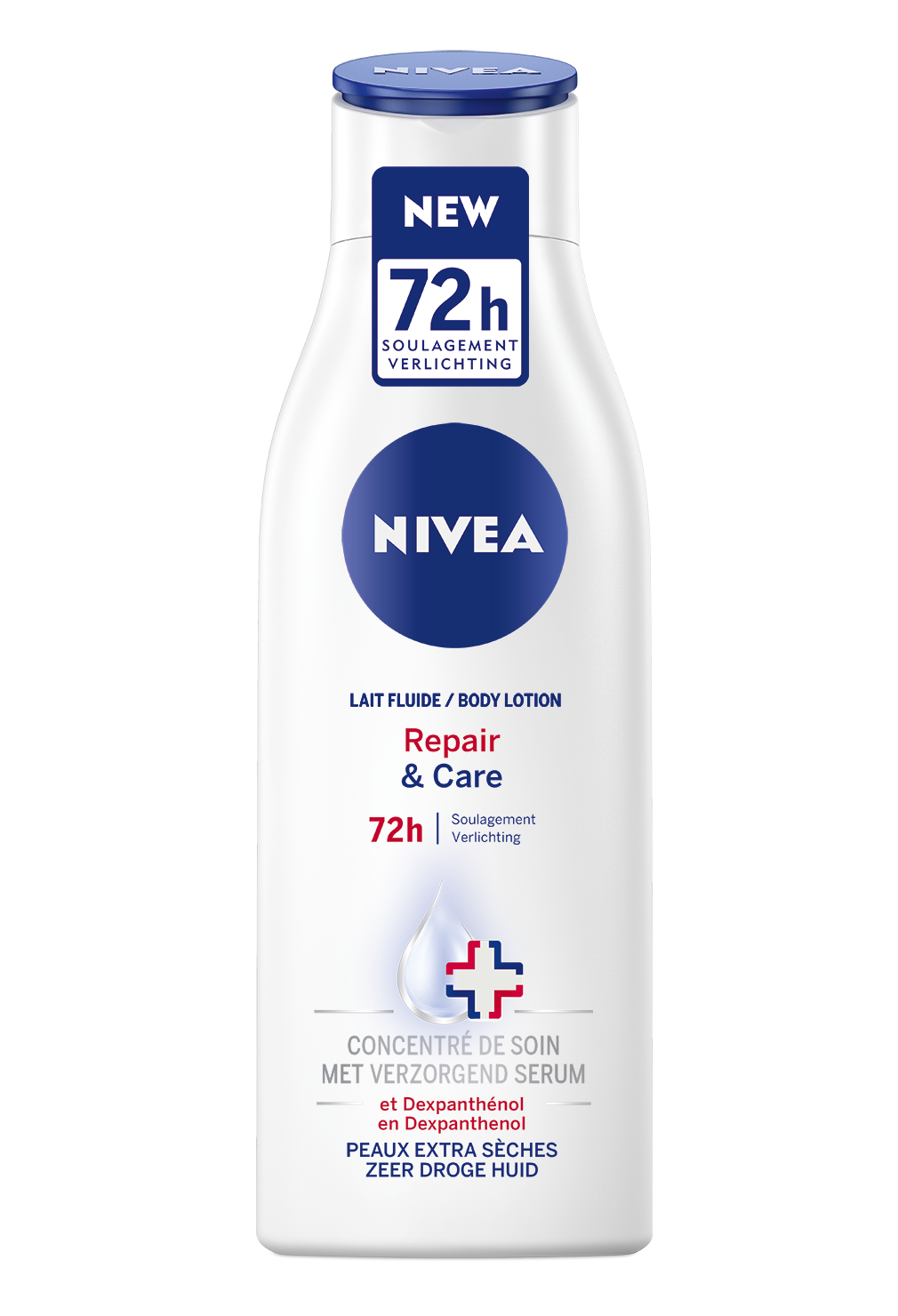 Kem dưỡng thể Nivea body lotion repair and care