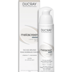 Kem dưỡng sáng da Melascreen Eclat Light Cream Skin Lightening SPF15 - Ducray